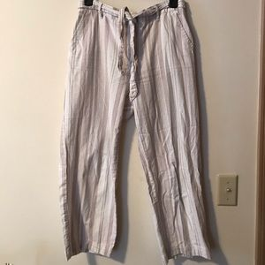 Cropped pants!